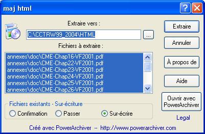 POWERARCHIVER 2004 TÉLÉCHARGER